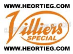 Villier Special Tank Transfer Orange DVILL7